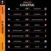 Football: UEFA Europa league round of 16 draws