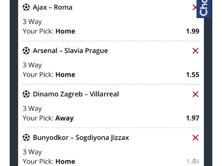Seven Brilliant Placing Picks With Correct Score(CS) And VIP Odds This Thursday 8th April