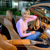 See the recent pictures of Regina Daniels in expensive cars