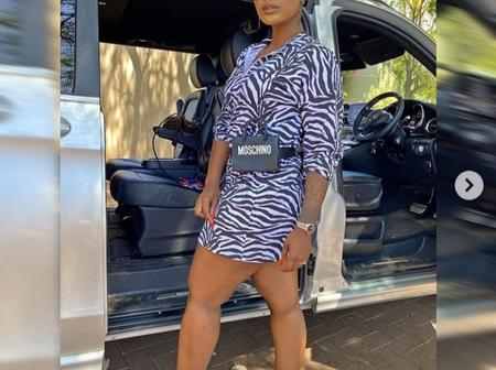 Fans are impressed by Khuli Chana's wife's drip. See pictures