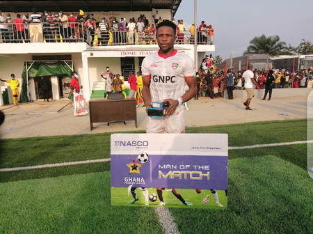 Diawisie Taylor Scores, Wins The Man Of The Match Award And Helps Karela United to Top The League