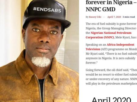Reno Omokri Digs Out Old Newspaper To Criticize Buhari