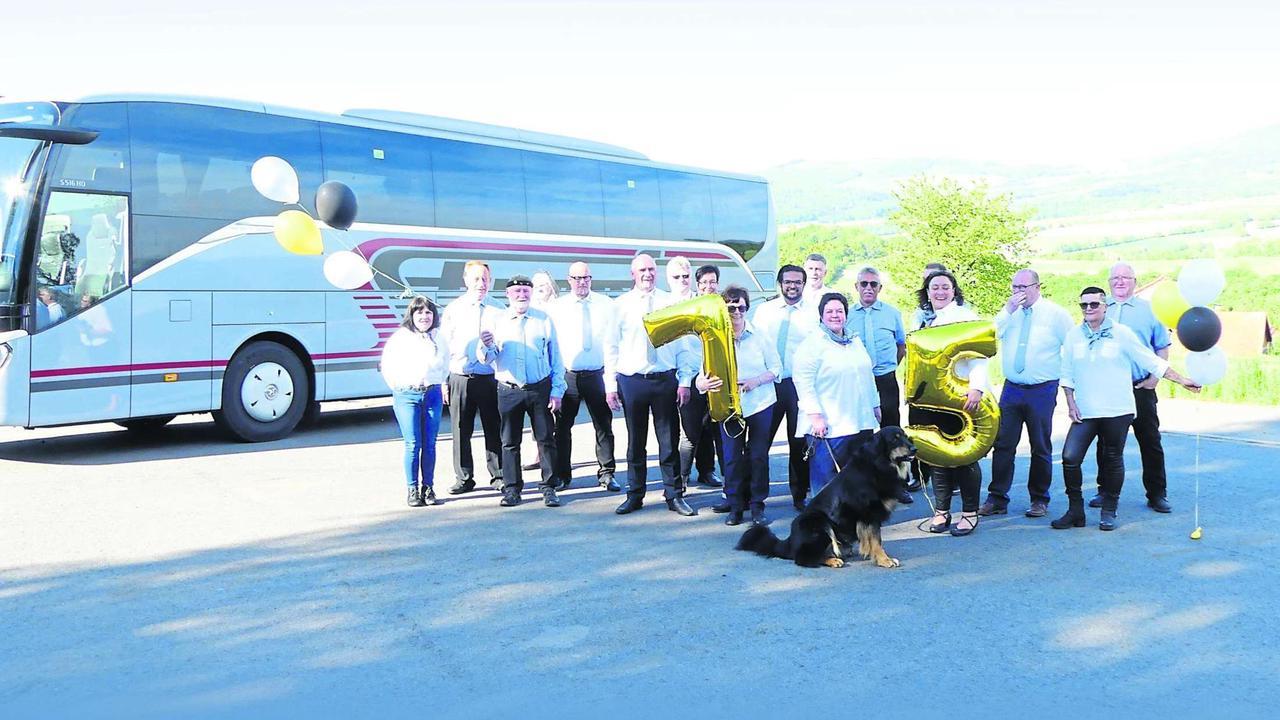 Weltweit unterwegs: Vor 75 Jahren wurde in Reulbach das Busunternehmen Stumpf gegründet