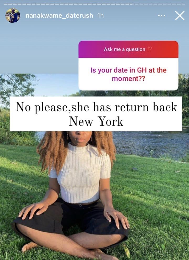 eede68387f494e919dc91a270c60403d?quality=uhq&resize=720 - Nabila Has Left Ghana To New York, She Has No Child As Assumed - Nana Kwame Of Date Rush Reveals