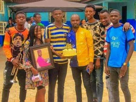 Mass Communication Students Surprise Lecturer On His Birthday In Ogun State