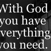 God Is Everything You Need Him To Be, He Is Everything You Need