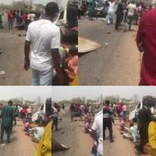 Passengers injured, cars crashed in a tragic Accident