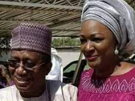 Meet Cyril Stober and his lovely wife who is a news anchor at NTA