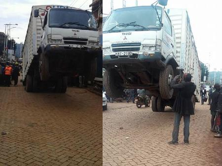 Wonders Shall Never Cease; Alleged Witchcraft as Lorry Stops to Take a Selfie