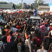 See The Crowds That Received Alfred Mutua In Mombasa county