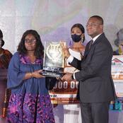 Ebony 2020: Voici la femme lauréate du super prix du meilleur journaliste ivoirien de l'année 2020