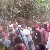 Sunday Igboho raids Ekiti forests to clear Fulani herdsmen' hideouts [VIDEO]