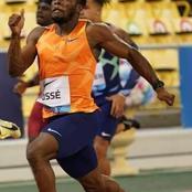 L'athlète Cissé Gué Arthur fait honneur à la Côte d'Ivoire et gagne les 200m du meeting de Doha