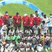 Black Satellites arrive home after resounding victory in Africa U-20 tournament