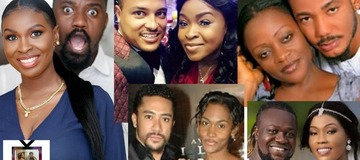 Top 8 Ghanaian Actors And Their Beautiful Wives.