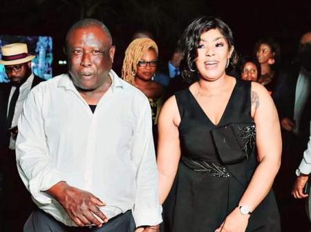 Voici la photo du maire Cissé Bacongo et son épouse qui fait le buzz ce vendredi
