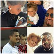 Check out the adorable photos of Kevin Prince Boateng's Kids. They look extremely handsome.