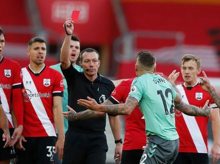 Gary Lineker reacts to Lucas Digne red card for Everton against Southampton See with video