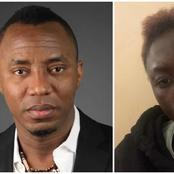 After Lady Accused Sowore of Pocketing An 'ENDSARS' Grant, See His Response On Twitter