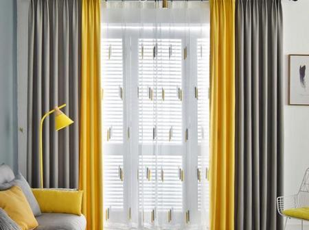 Are you planning on changing the curtains in your sitting room? Check out 20 curtain inspiration
