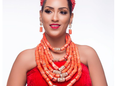 Juliet Ibrahim Stuns In New Pictures, See Her Beautiful Traditional Dressing