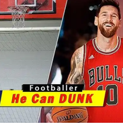 Photos Of Ronaldo, Messi, Neymar, Pogba, Drogba And Others Playinkg Basketball