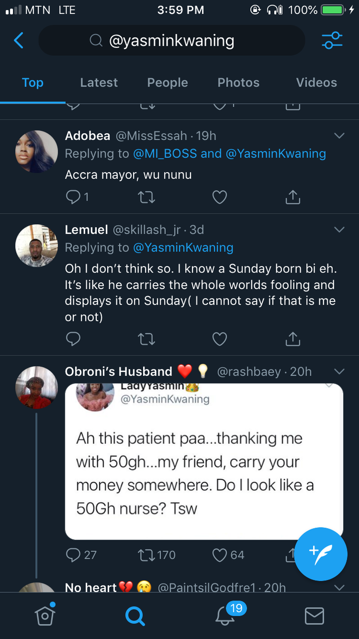 ef632c12b7ecca1d52ab20559f43ece0?quality=uhq&resize=720 - Ghanaian Nurse Roasted On Twitter For Saying She Doesn't Look like A Ghc50 Nurse After A Patient Thanked Her With Ghc50