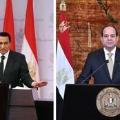 تعرف على ما كُتب على قبر مبارك.. وهذا رأيه في الرئيس السيسي.. وهذه وصيته التي نشرها نجله علاء