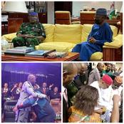 As Pastor Adeboye visited Kaduna, Bishop Oyedepo and Apostle Suleiman Visited These States Today