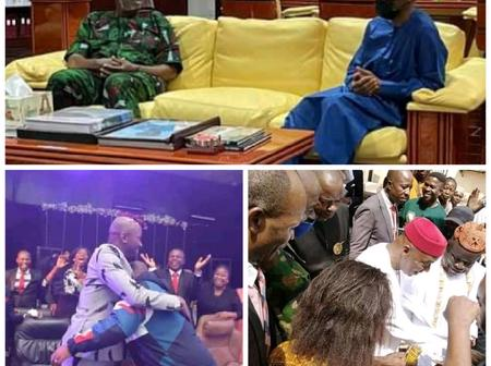 As Pastor Adeboye visited Kaduna, Bishop Oyedepo and Apostle Suleman Visited These States Today