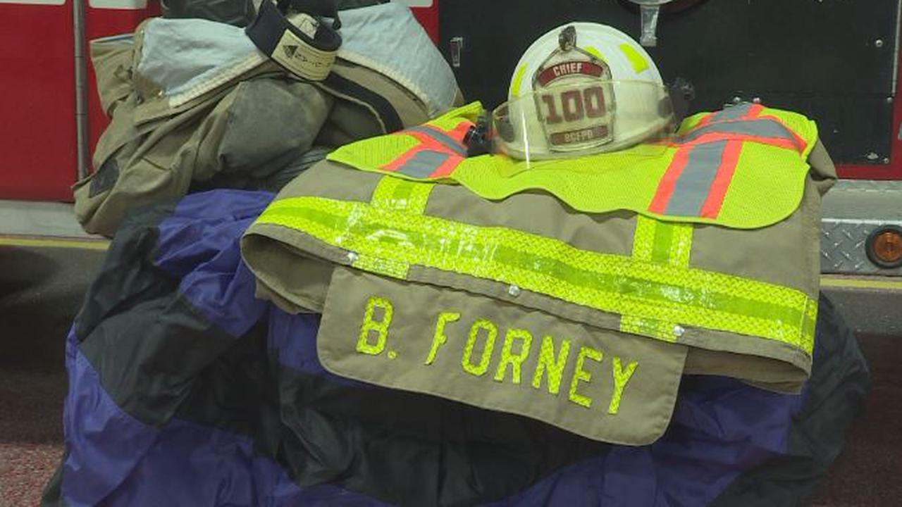 Brimfield honors Fire Chief Bob Forney at Saturday funeral