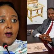 Sports CS  Amina Mohammed Mourns Her Brother