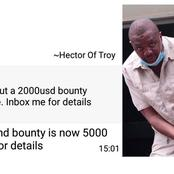 Zimbabwean Journalist receive death threats with $5000 bounty on his head.