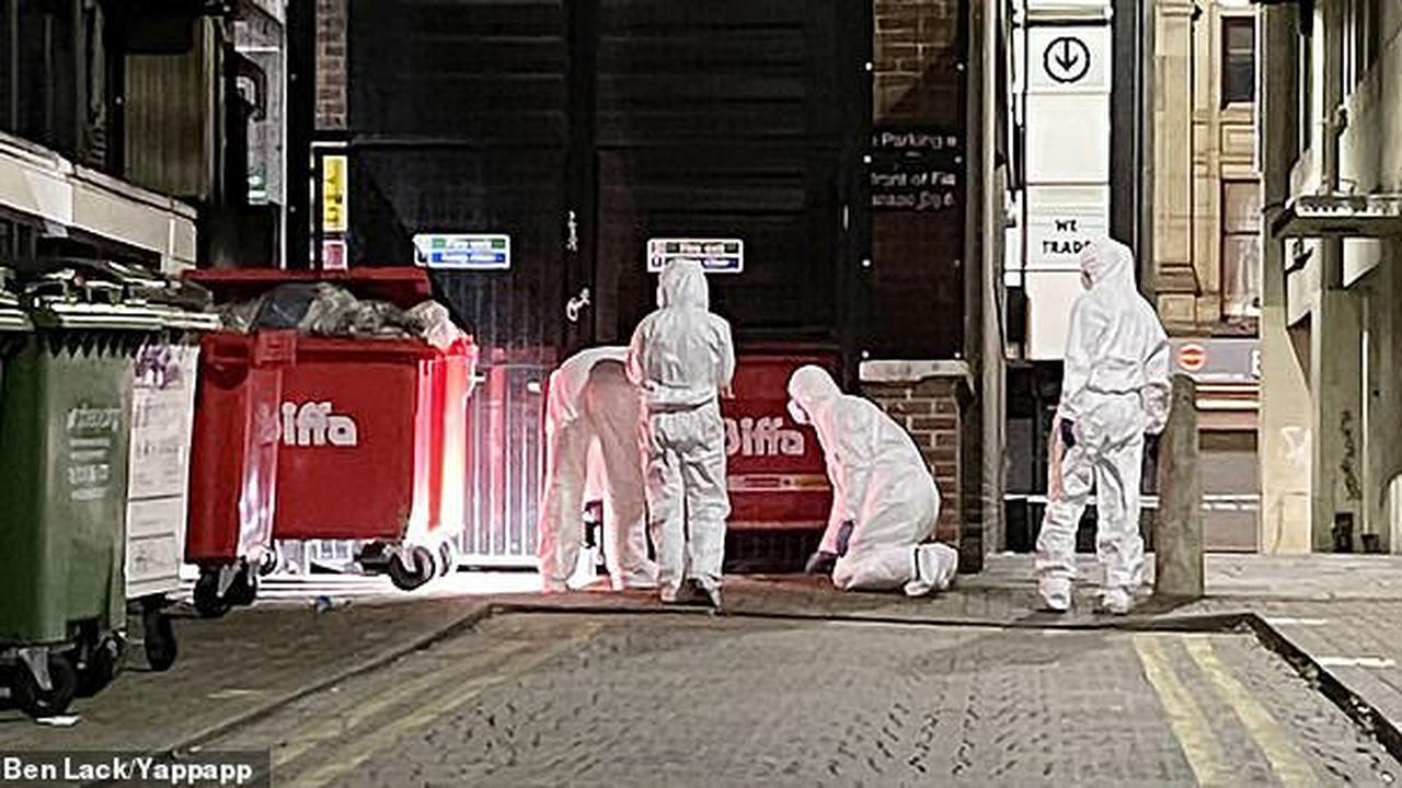 Police investigating death of young man in city centre