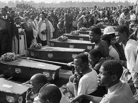 Black child, it's not Human Rights Day, a massacre happened, here is the full story