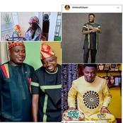 Sanyeri, Bimbo Afolayan and others celebrates their colleague Kunle Afod's birthday (pictures)