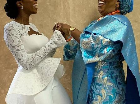 Check Out Fashionable Ankara And Lace Aso Ebi Styles for Both Married & Singles Ladies (Photos)