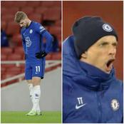 (Video) See The Moment 'Angry Tuchel' Shouted At Timo Werner For Ignoring His Instructions Yesterday