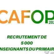 CAFOP 2020, les résultats du premier tour sont disponibles : voici où et comment les consulter