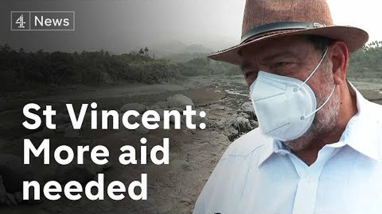 St Vincent desperate for more international aid as volcanic threat remains