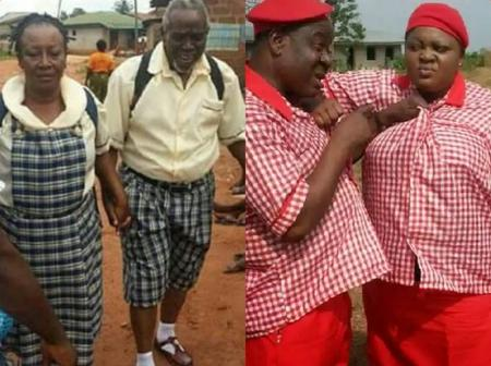 Which Of These 16 Talented Nollywood Celebrities Slayed In School Uniforms? [photos]
