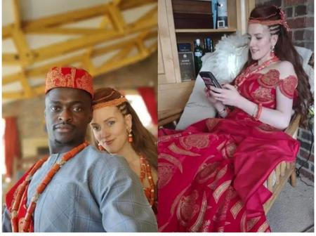 Reactions As Futo Graduate Traditionally Weds His Beautiful White Girlfriend