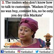 Different Types of People You Will Meet In Nigerian Market.(Memes).