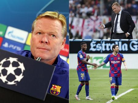 Barcelona Coach's Sack Imminent As Real Madrid Trash The Club At Camp Nuo.