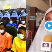 Exposed: Check Out What Released Students Said The Kidnappers Told Them About The Government - Video