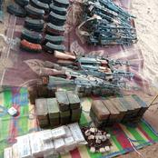 Check Out Deadly Weapons Nigerien Police Allegedly Recovered From Smugglers In A Village (PHOTOS)