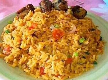 Mothers, prepared carrot jollof rice for your lovely family this Easter