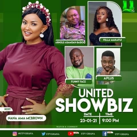 "efede3bed859445ba762284a4932b43b?quality=uhq&resize=720 - ""Frying Pan To Fire"": Kwame A-Plus Succeeds Bull Dog On Nana Ama Mcbrown's United Showbiz Program"