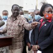 Crowd Cheers After What Raila Did When a Woman Screamed Interrupting His Speech in Malindi