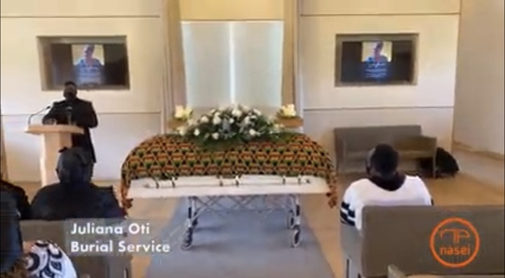 eff635880a0948ef9bd55af23385acdf?quality=uhq&resize=720 - Tears Flow From The London Cemetary Where Becca's Mother, Juliana Oti Was Buried - Sad Scenes
